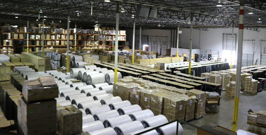 Picture of a warehouse interior