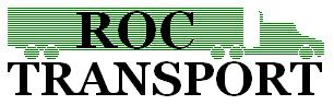 image of a logo of ROC Transport, a 3PL company